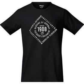 Bergans 1908 Tee Herren black/white